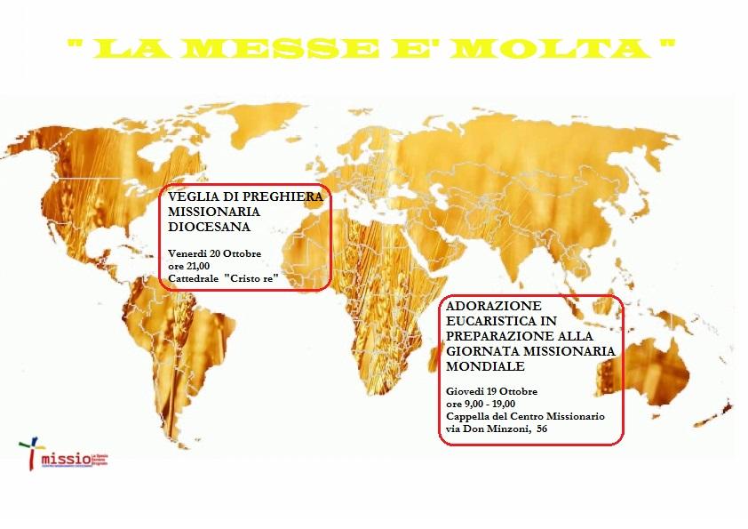 Ottobre missionario - Adorazione eucaristica @ Cappella Centro Missionario | La Spezia | Liguria | Italia