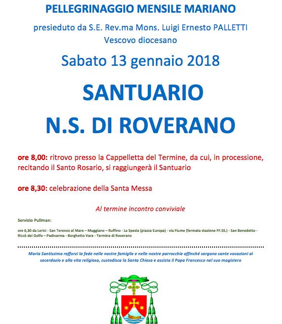 Pellegrinaggio Mariano Diocesano – N. S. di Roverano