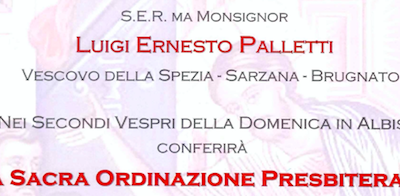 Sacra Ordinazione Presbiterale