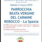 Pellegrinaggio mariano mensile – 2 marzo 2019
