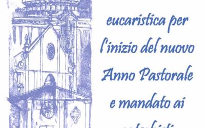 Inizio Anno Pastorale – domenica 13 ottobre 2019 ore 17.00