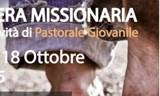 Veglia Missionaria e Inizio attività Pastorale Giovanile – 18 ottobre 2019