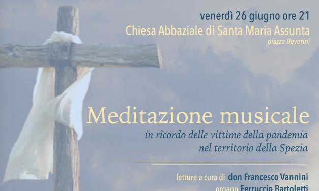 Meditazione Musicale – 26 giugno 2020 ore 21.00