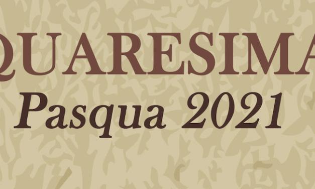 Quaresima di Carità – Pasqua 2021