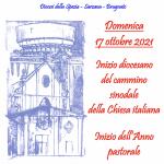 Inizio del cammino sinodale della Chiesa italiana e inizio dell'Anno pastorale